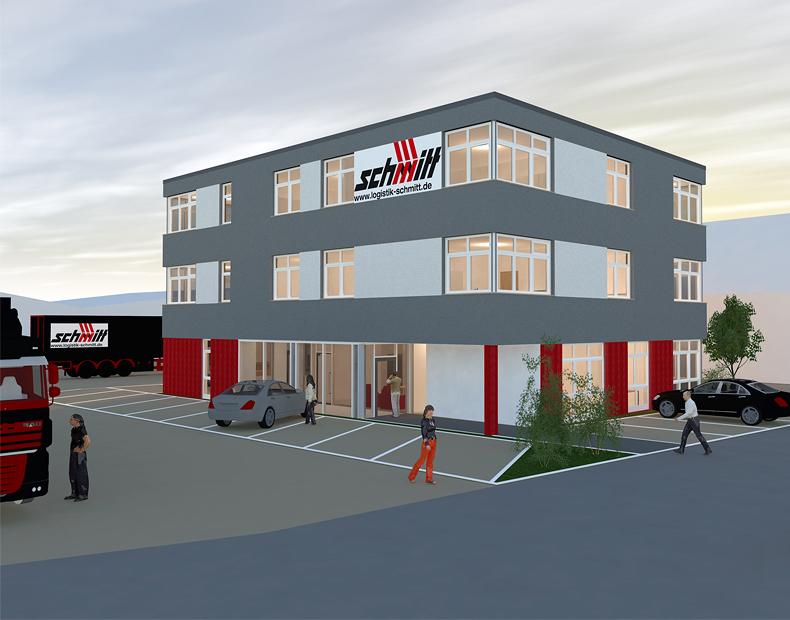 Schmitt News – Neubau Bürogebäude